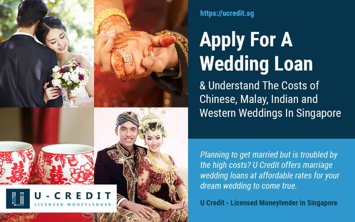 Apply For A Wedding Loan and Understand The Costs of Western, Chinese, Malay and Indian Weddings In Singapore (2019 Update)