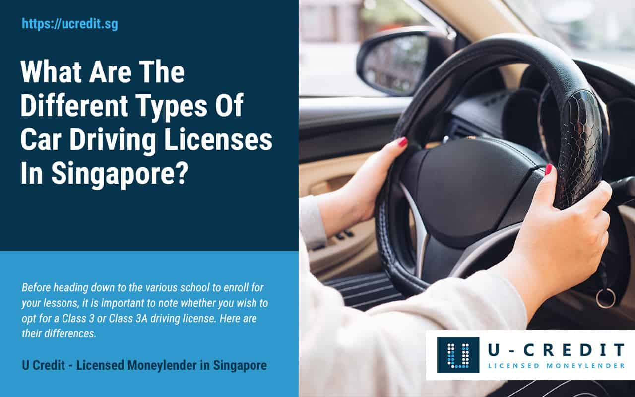What-Are-The-Different-Types-Of-Car-Driving-Licenses-In-Singapore