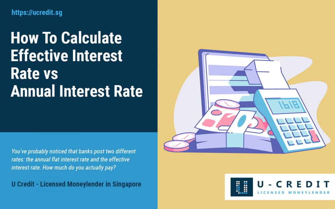 How To Calculate Effective Interest Rate vs Annual Interest Rate